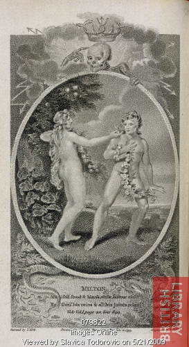 Adam and Eve    Paradise lost