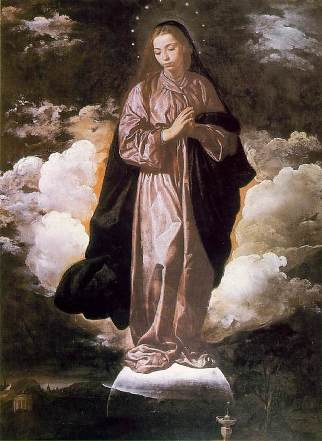 The Immaculate Conception by Velazquez