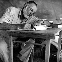 Ernest Hemingway in Kenia 1953