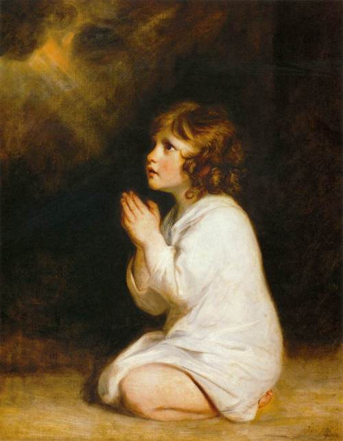 The infant samuel 1776 by Sir Joshua Reynolds
